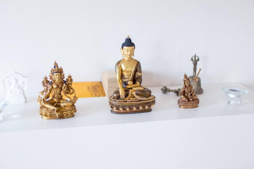 Posąg Buddy w Tychach