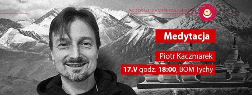 """Wykład Piotra Kaczmarka """"Medytacja"""""""
